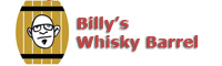 billys whisky barrel logo